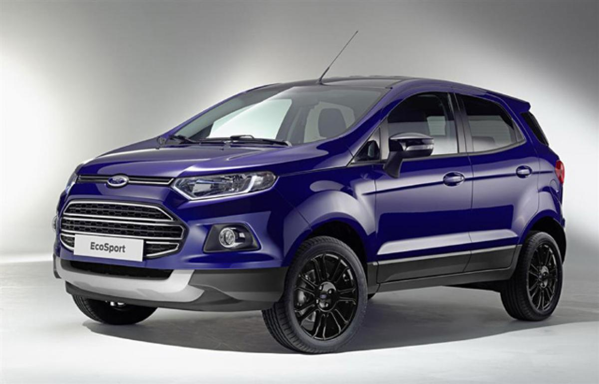 EcoSport to continue with external spare wheel in India
