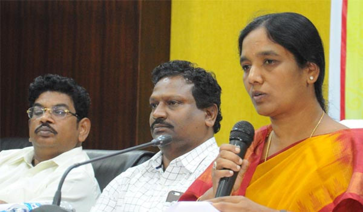 Sunitha vows action against erring dealers