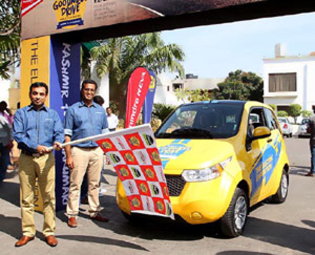 Mahindra seeks tax incentives from TS for electric cars