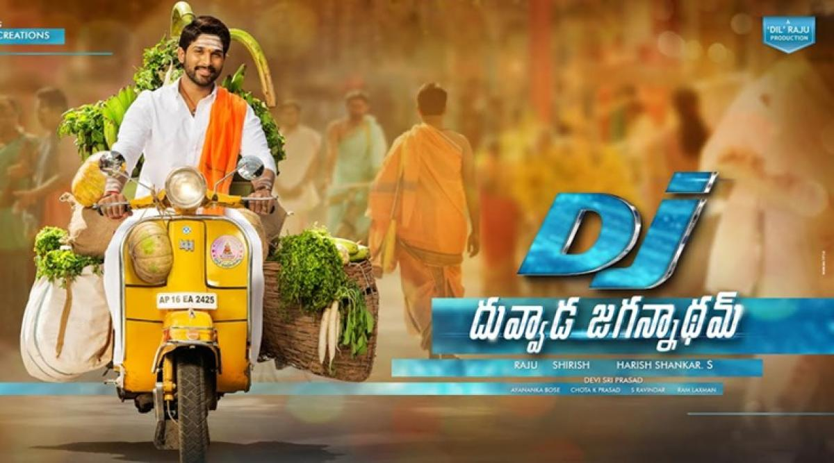 Allu Arjuns Duvvada Jagannadham first day estimated collections Rs.30 Cr