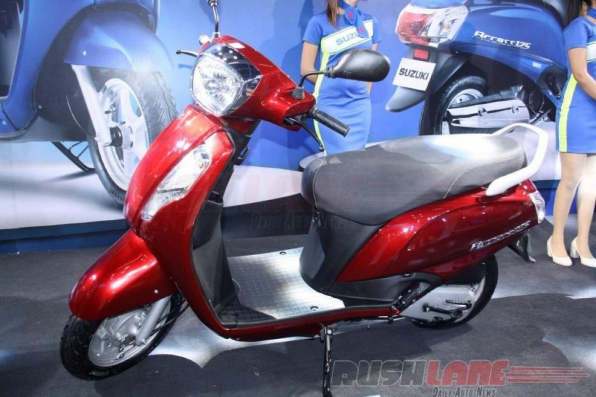 Suzuki Access 125 automatic scooters recalled over faulty rear axle shaft