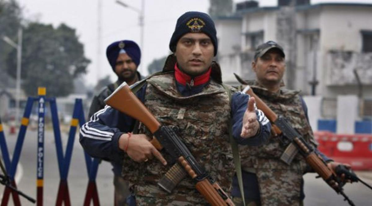 Two terrorists still holed up in Pathankot Air Force base, operations intensified