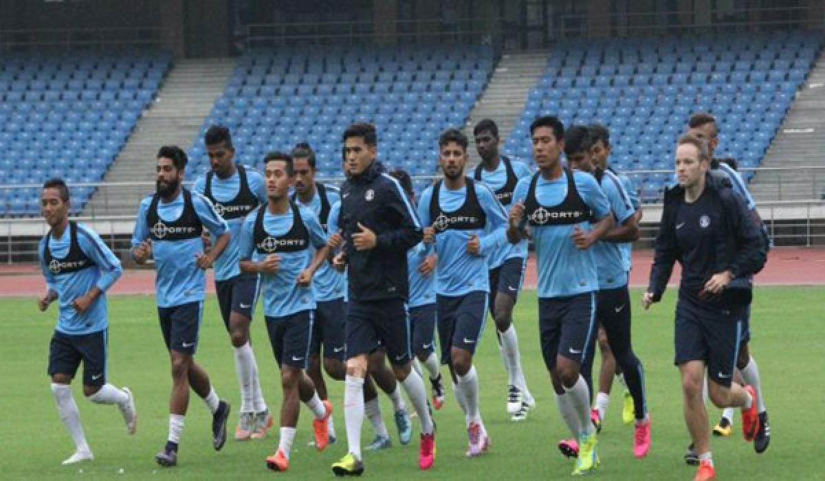 Indias Football team aiming to win against Puerto Rico friendly match