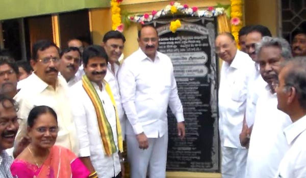 Efforts on to upgrade facilities at government hospitals: Kamineni Srinivas