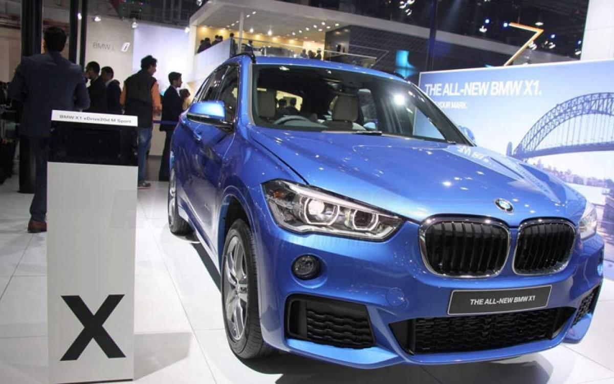 BMW X1, BMW X1M features price in India Auto Expo 2016