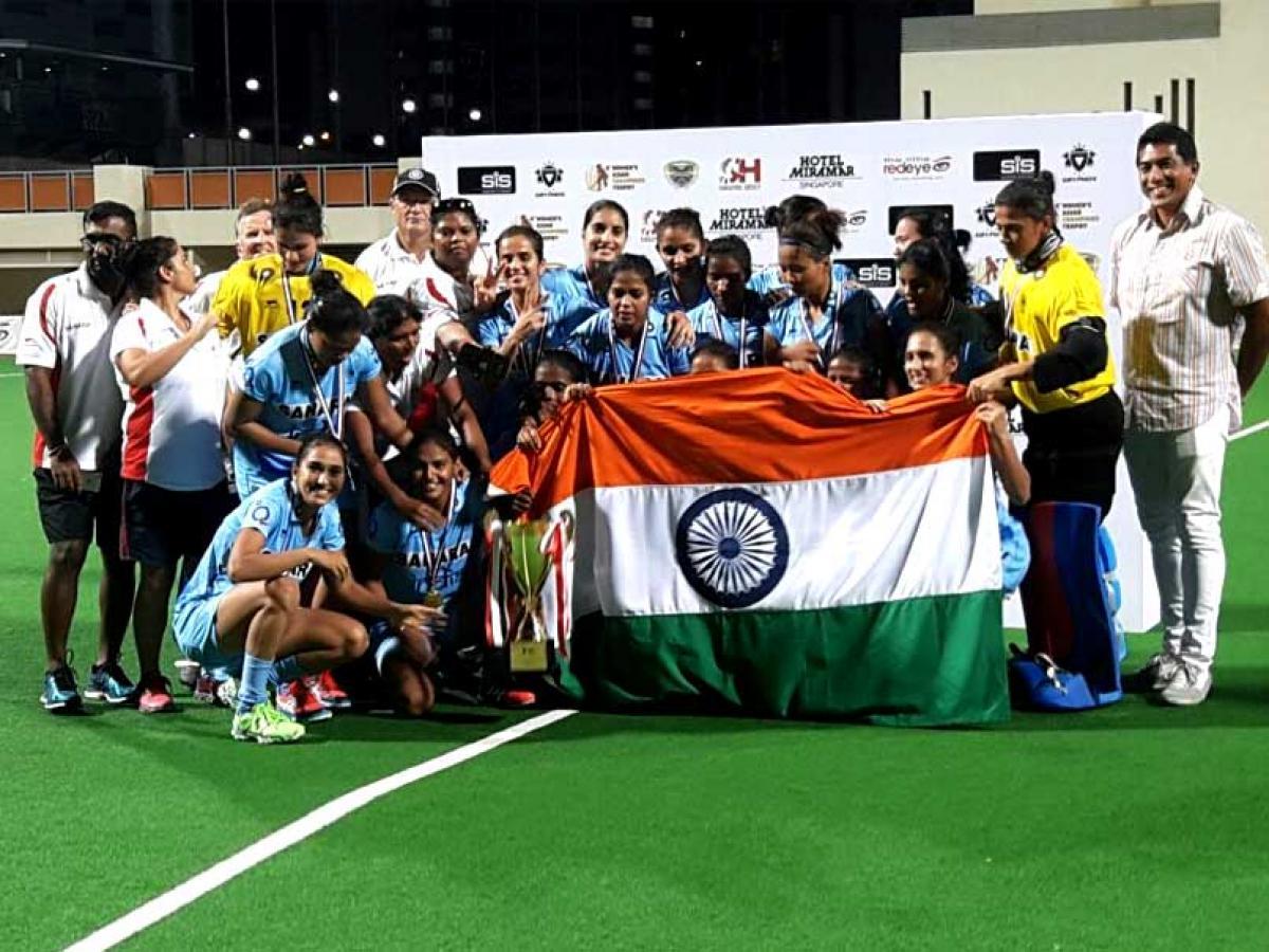 India defeat China 2-1, lift Womens Asian Champions Trophy Hockey title
