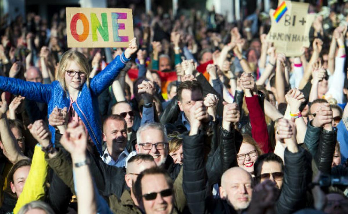 Protest Across Netherlands After Attack On Gay Couple