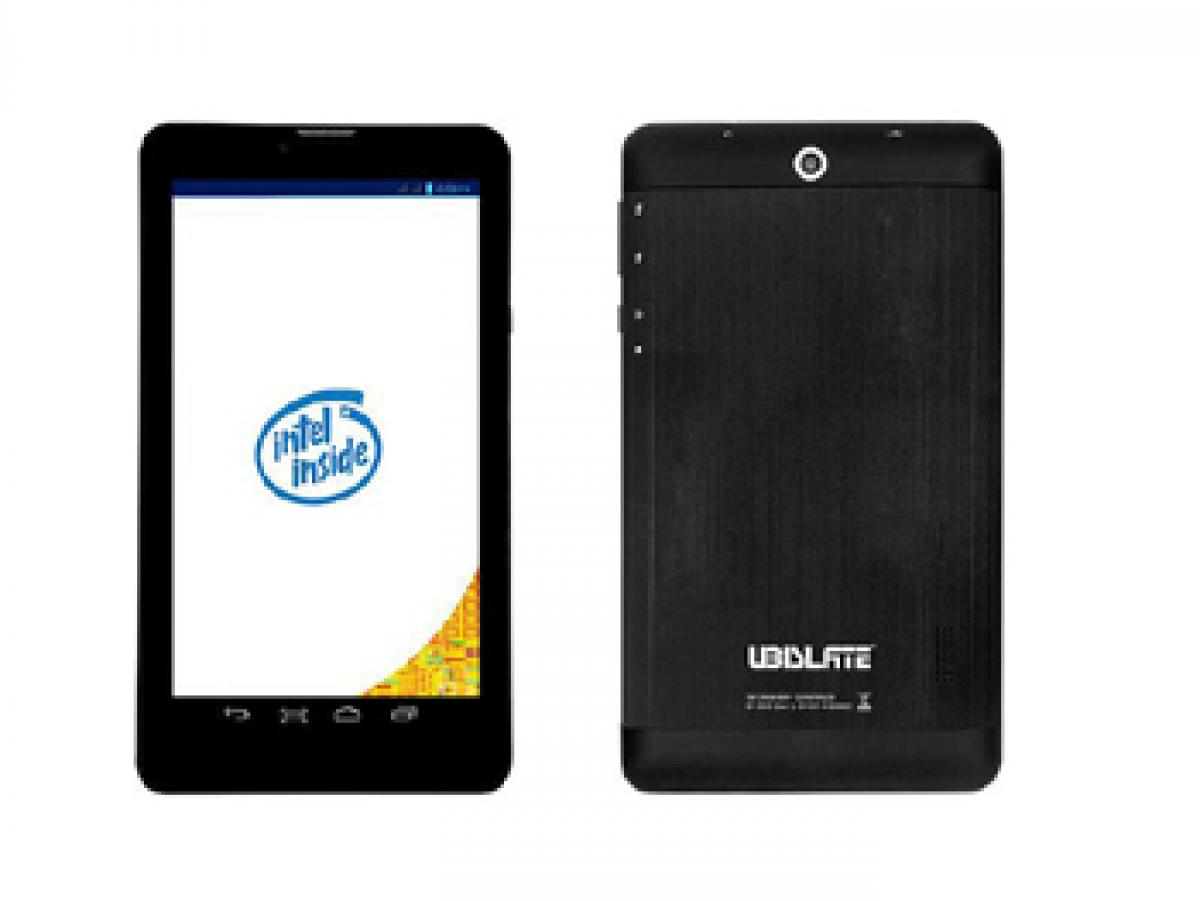 Datawind introduces voice-calling tablet with Intel SoC