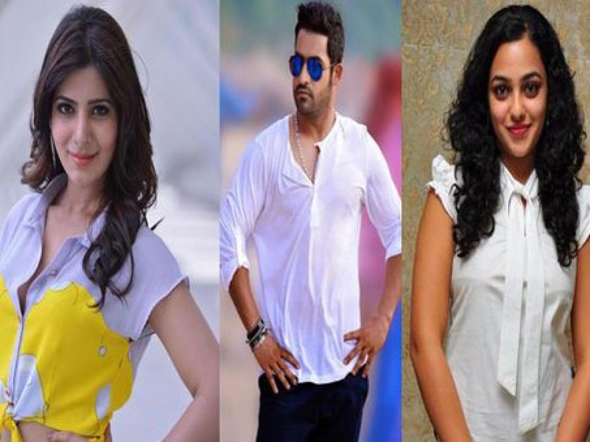 NTR to romance Nithya Menen, Samantha in Koratala Janatha Garage?