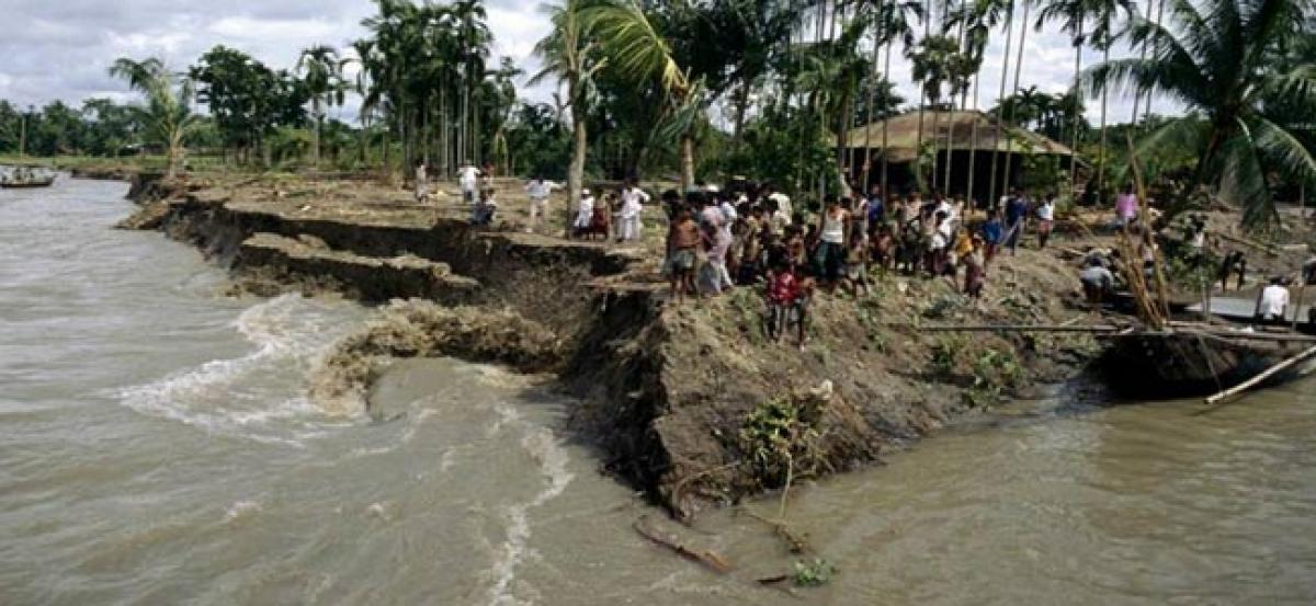 Bangladesh vulnerable to climate change as coastal residents are getting displaced