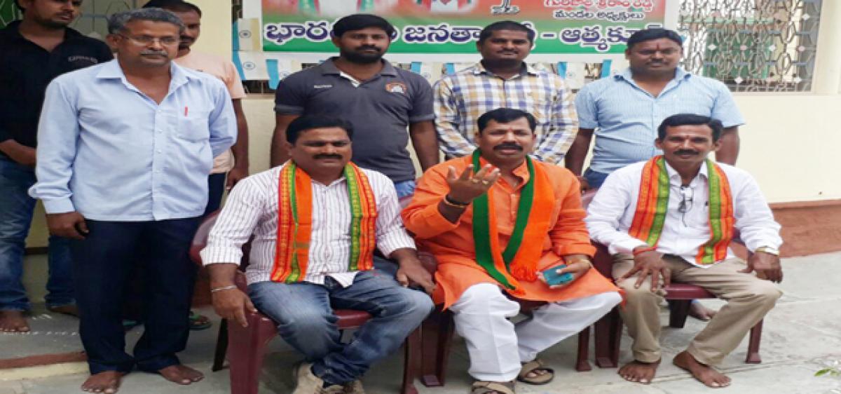 BJP supports Kodandaram