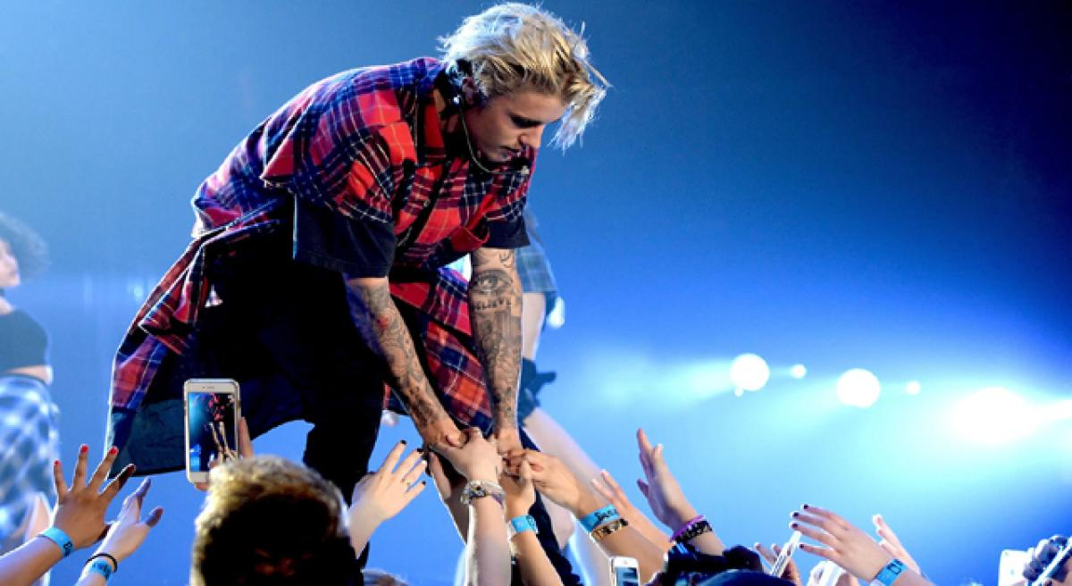 Justin Bieber in India on May 7