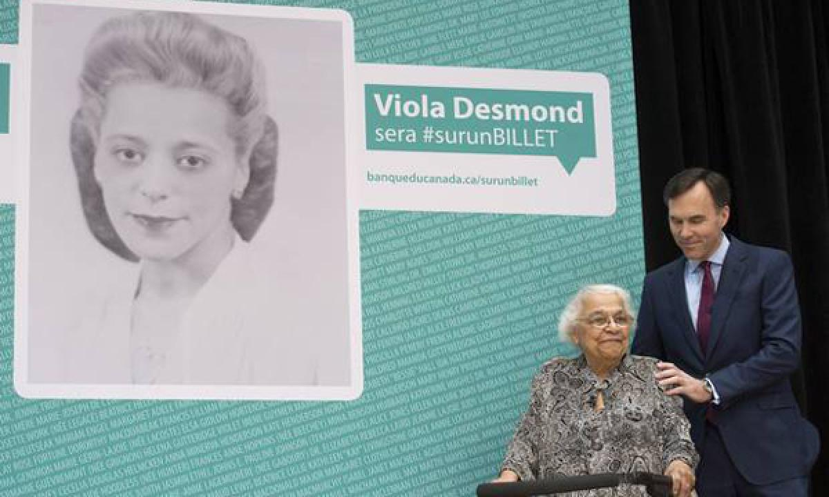 Viola Desmond, Black civil rights activist becomes the first Canadian woman to feature on banknote