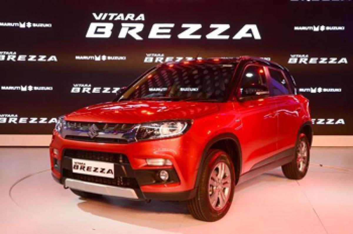 Maruti Vitara Brezza launched