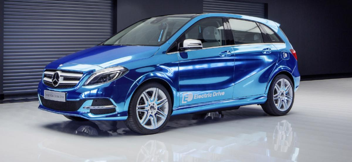 Electric vehicles from Mercedes in 2018