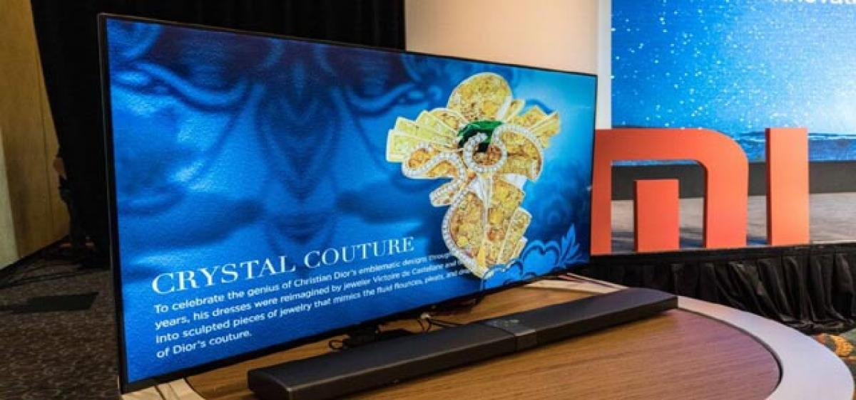 Xiaomi launches Mi TV 4 on CES debut