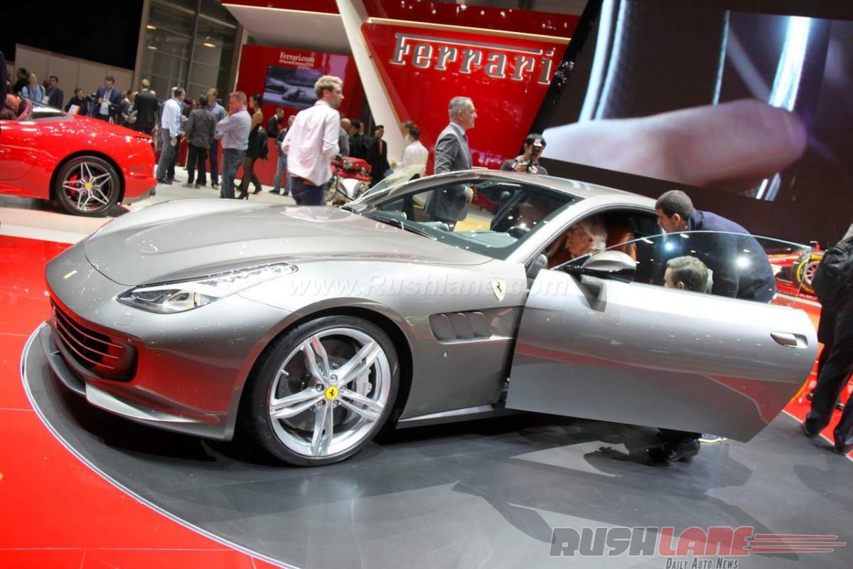 Check out: Ferrari GTC4Lusso features at Geneva Motor Show 2016
