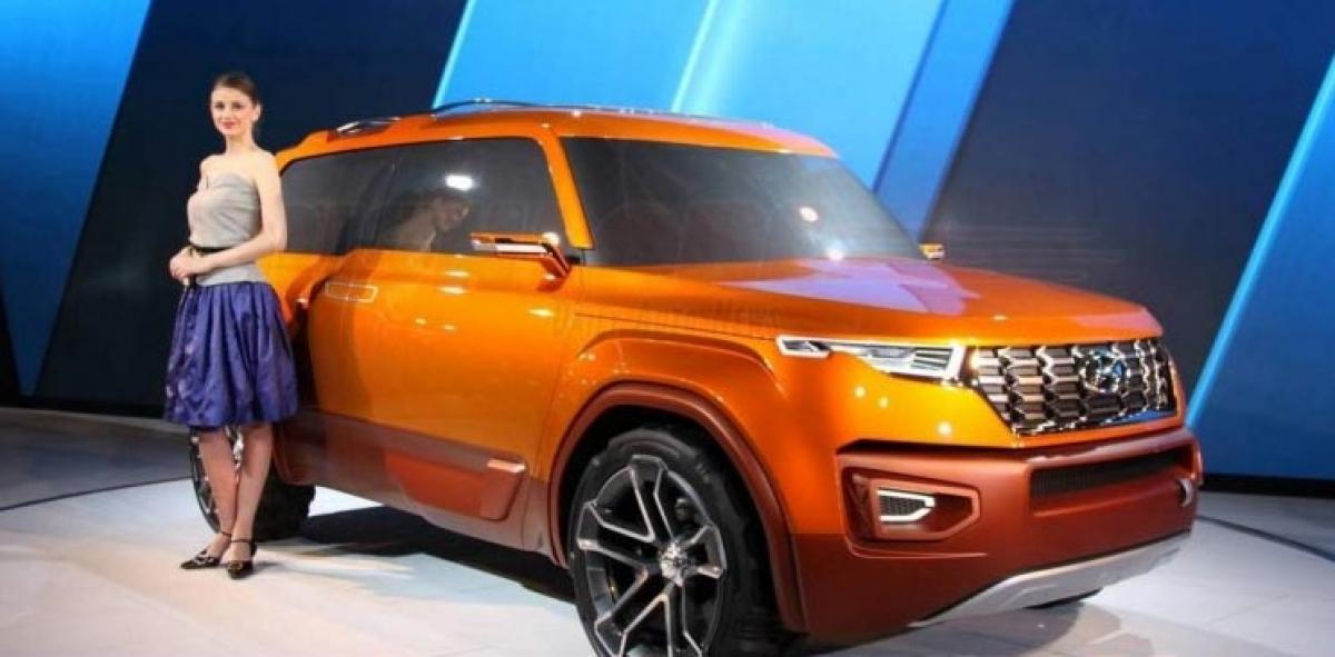 Hyundai Carlino SUV Concept revealed at Auto Expo 2016