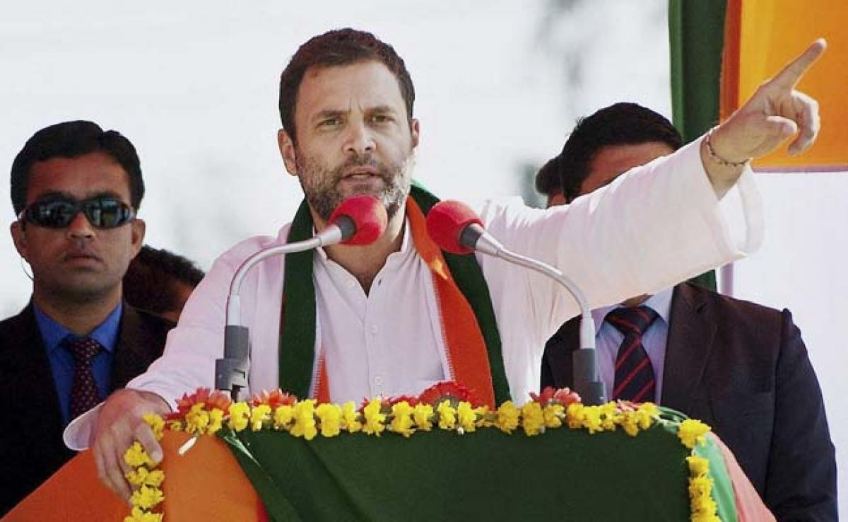 Rahul Gandhi: India got a Trump in the form of Narendra Modi two-and-a-half years ago