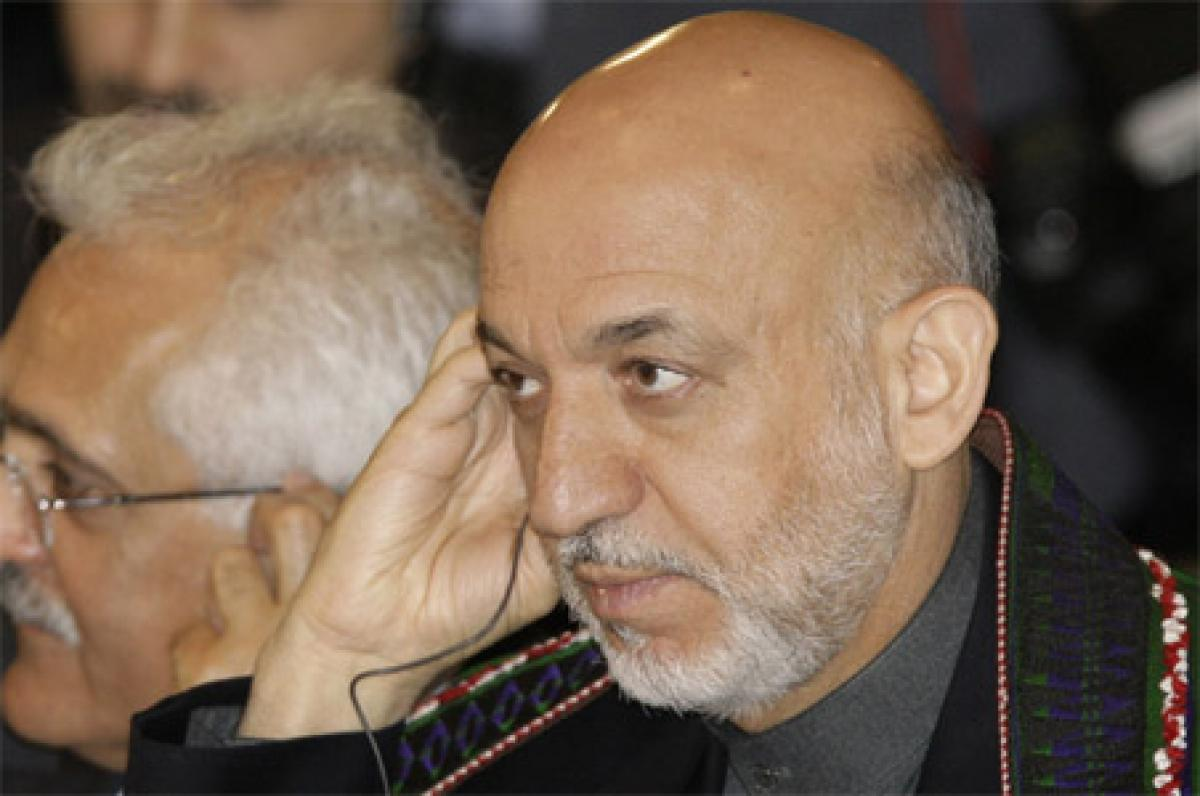 Former Afghan President Hamid Karzai Dubs Massive US Bomb Drop Decision
