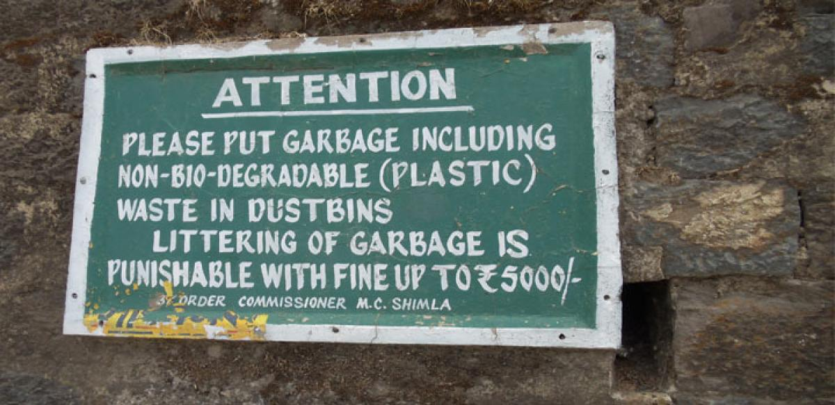Shimla garbage stinks in City Beautiful