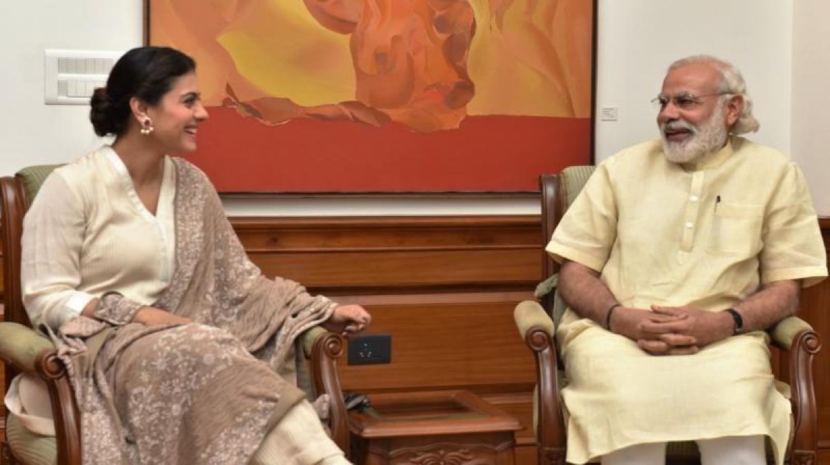 Modi and I have same goals, want clean environment, says Kajol