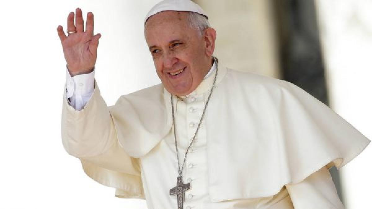 Vatican wants copyright on Pope
