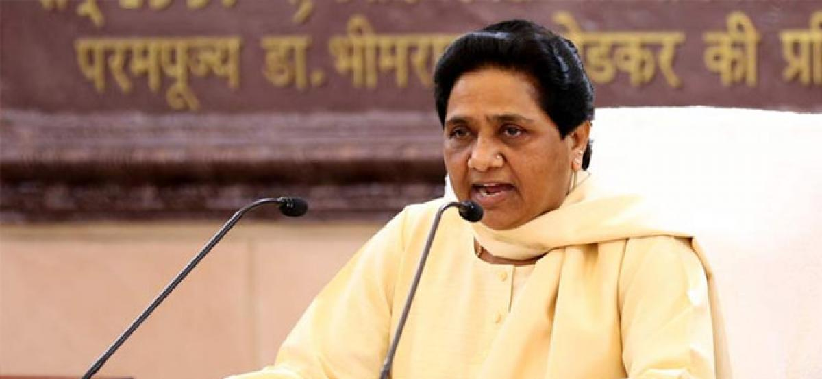 BSP chief Mayawati rakes up EVM issue, to move court against tampering