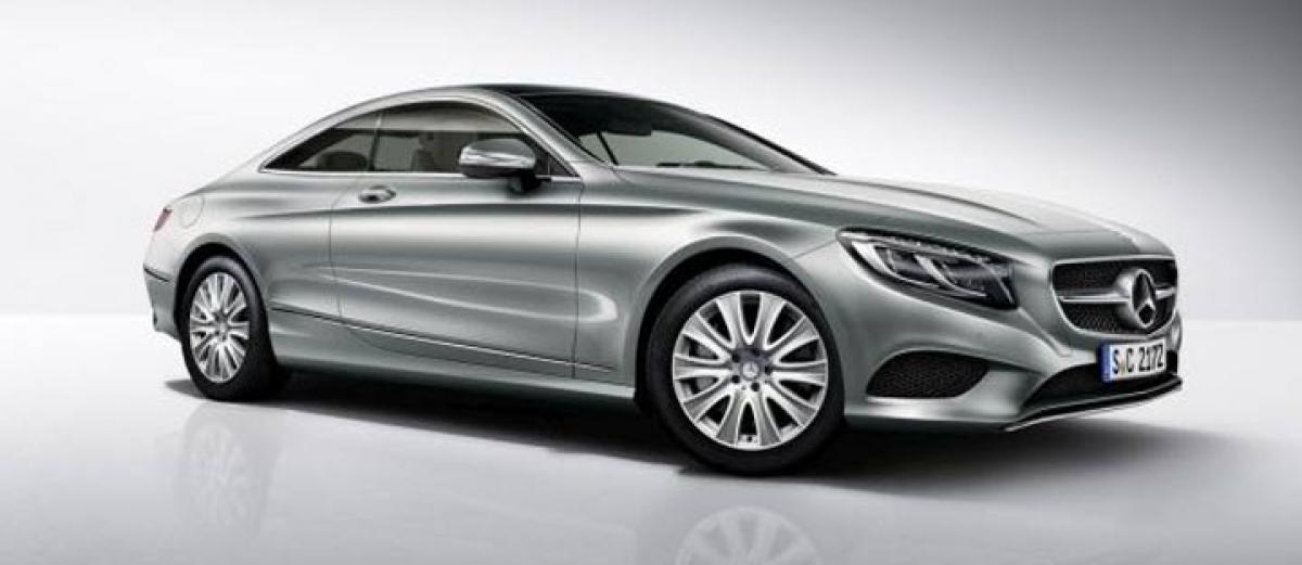 Mercedes-Benz unveils entry level S400 4MATIC Coupe