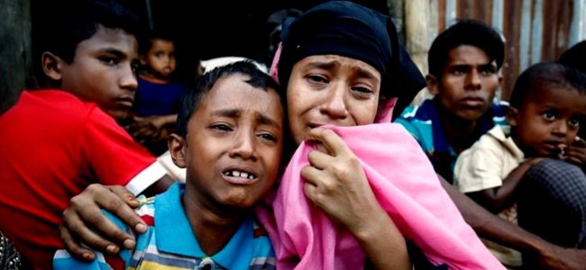 50,000 Rohingya Muslims flee Myanmar to Bangladesh