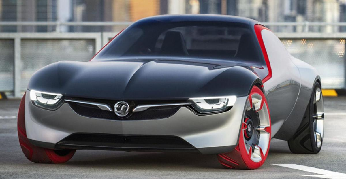 Vauxhall GT Concept revealed