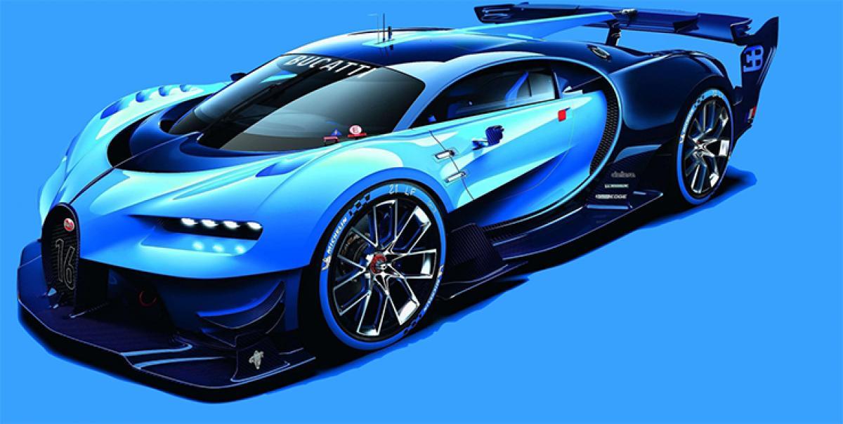 Bugatti Vision Gran Turismo revealed
