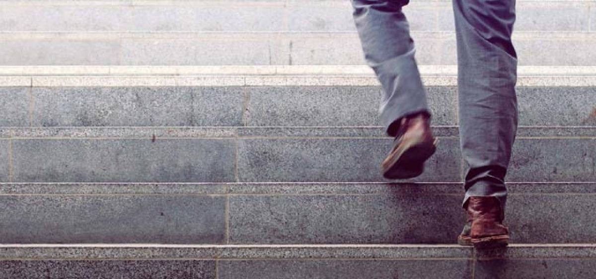 Brief, intense stair climbing good for heart