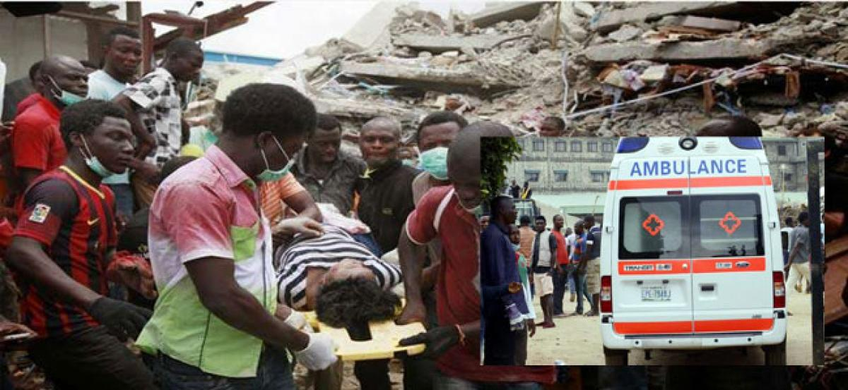 Nigeria: Over 60 worshippers feared dead after Church collapse