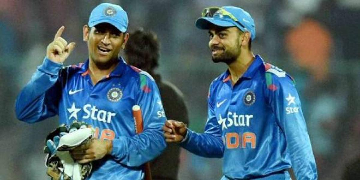 Dhoni saved me from getting dropped from the team many a times: Kohli