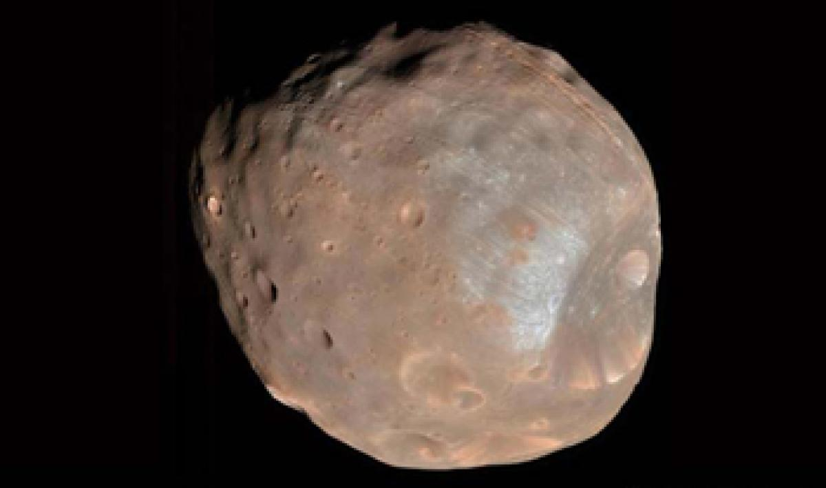NASAs MAVEN mission makes series of close approaches to the Martian moon Phobos