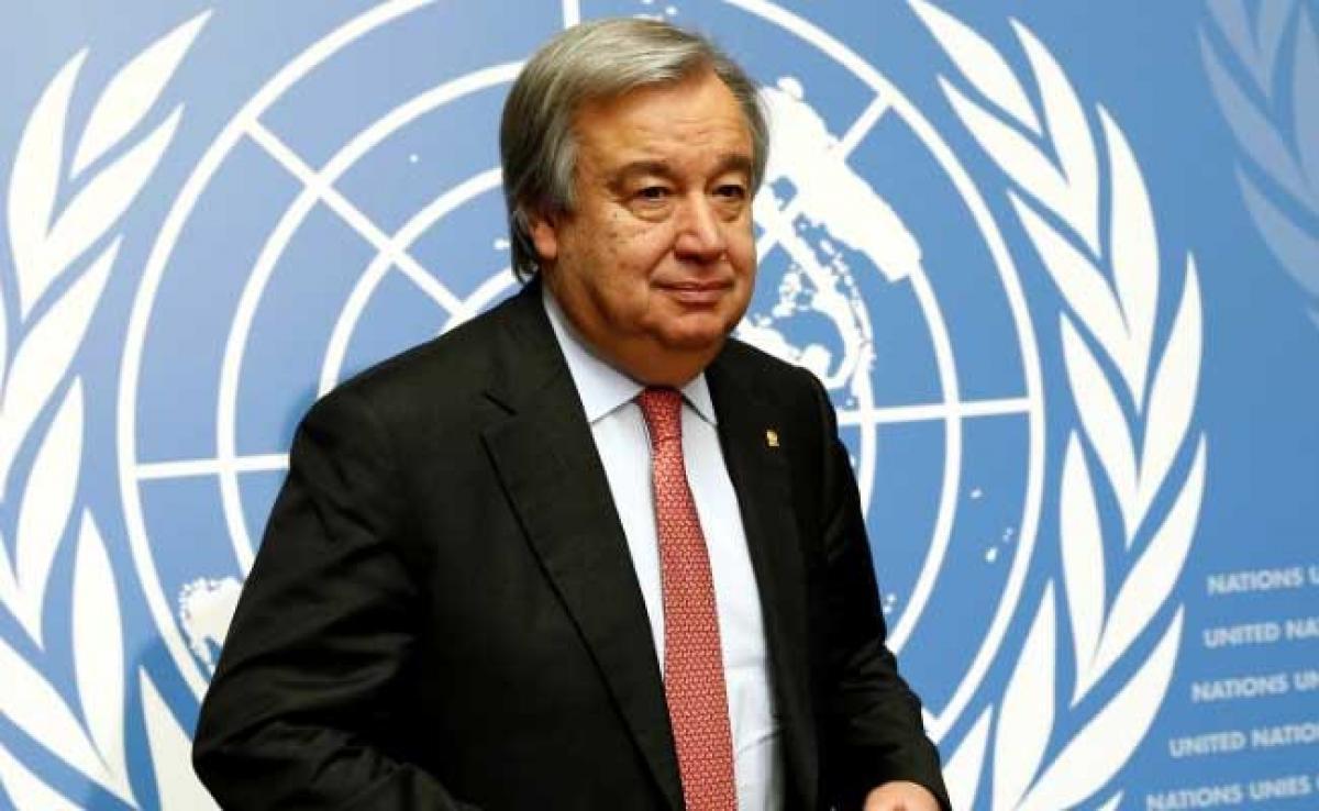 UN Chief Antonio Guterres Condemns Syria Chemical Attack, Calls It War Crime