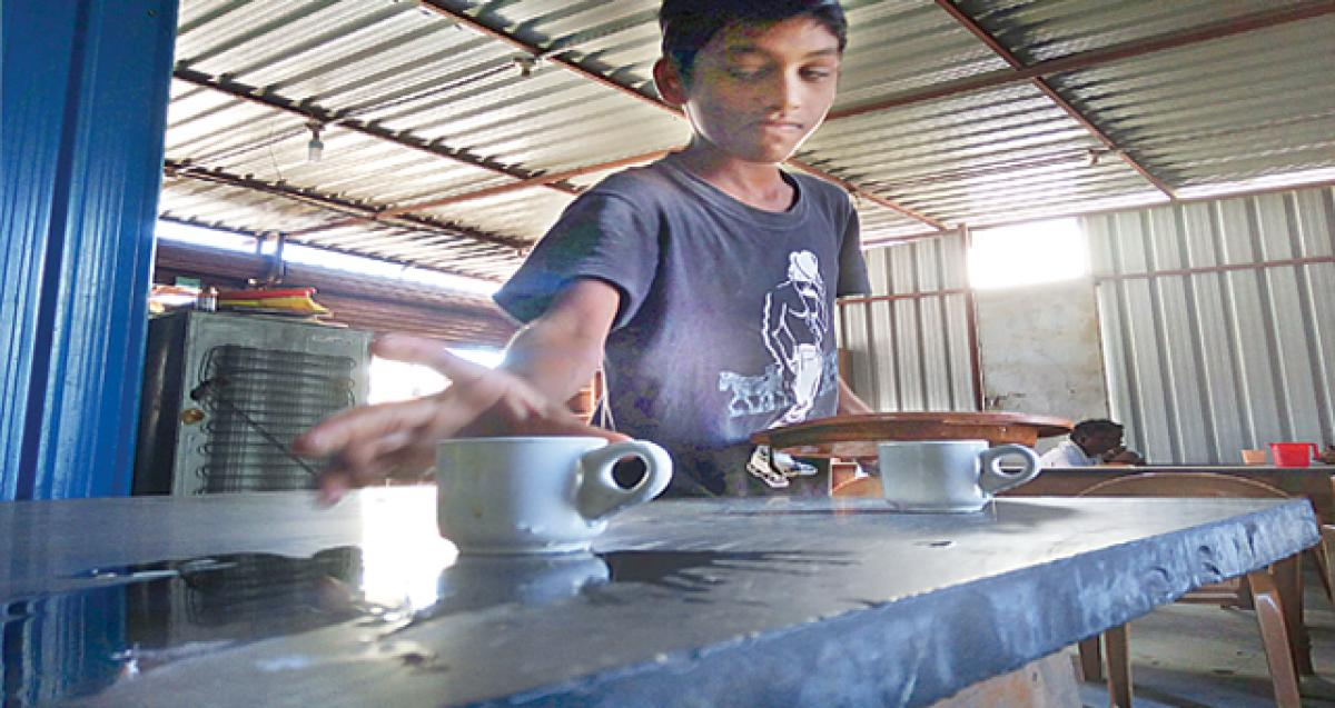 Child labour menace goes unabated