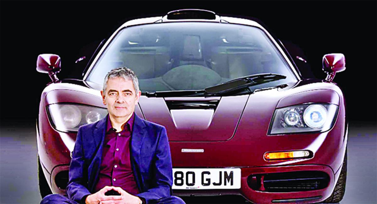 Rowan Atkinson sells his rare McLaren F1