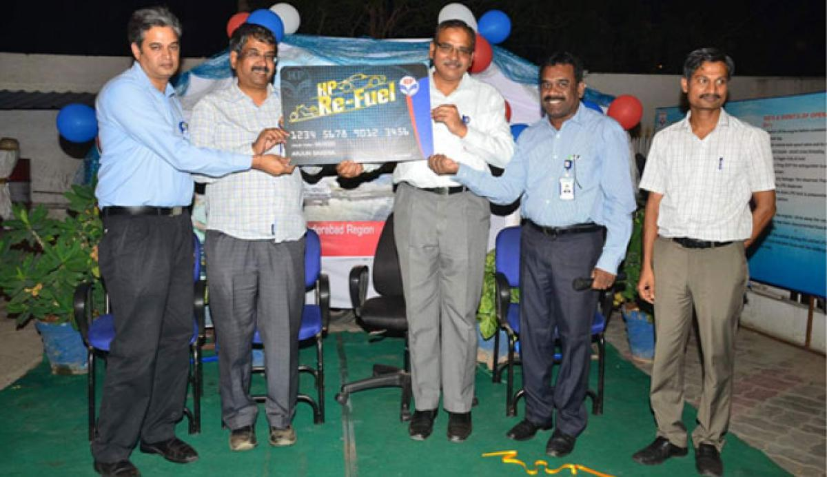 Launch of HP Refuel Card