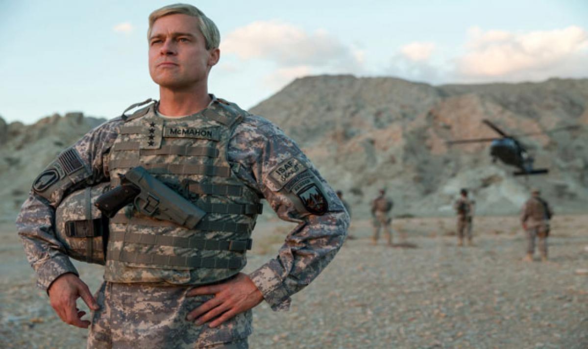War Machine has Brad Pitt hamming all the way to doomsday