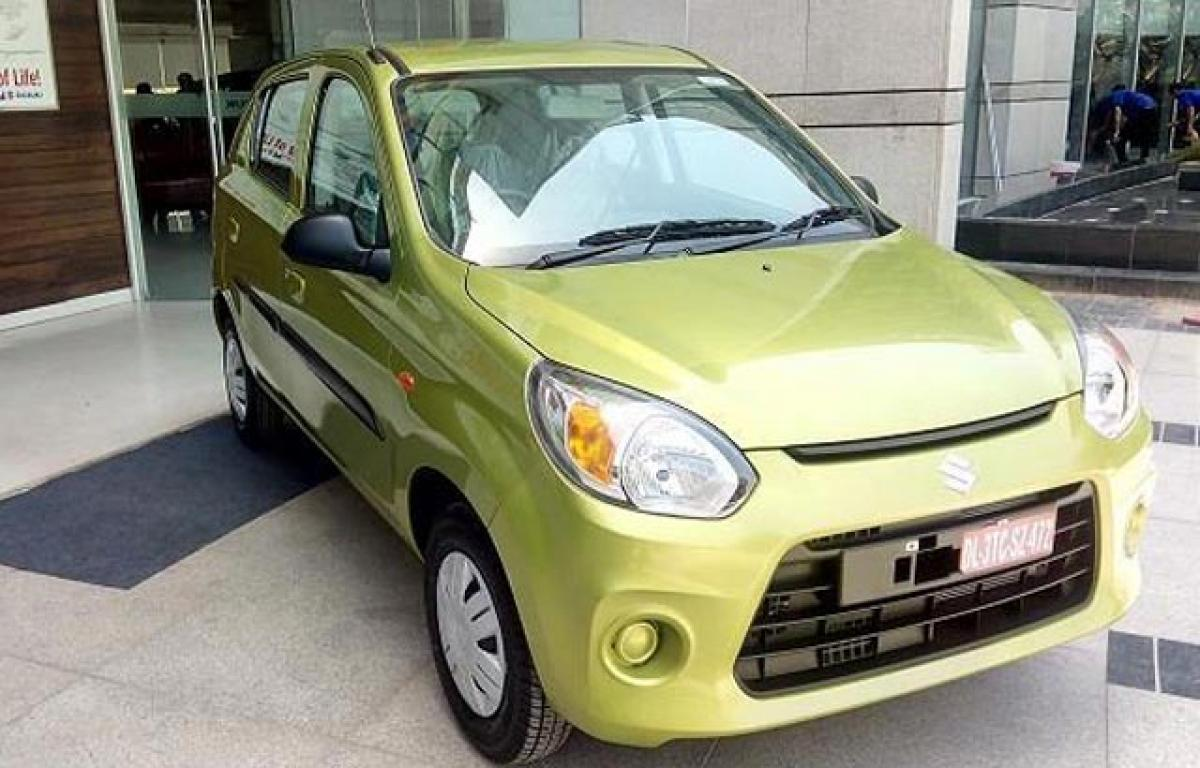 Maruti Suzuki unveils refurbished version of Alto 800