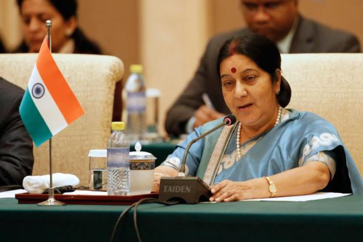 Sushma Swaraj seeks report on Indian woman being asked to strip at Frankfurt airport