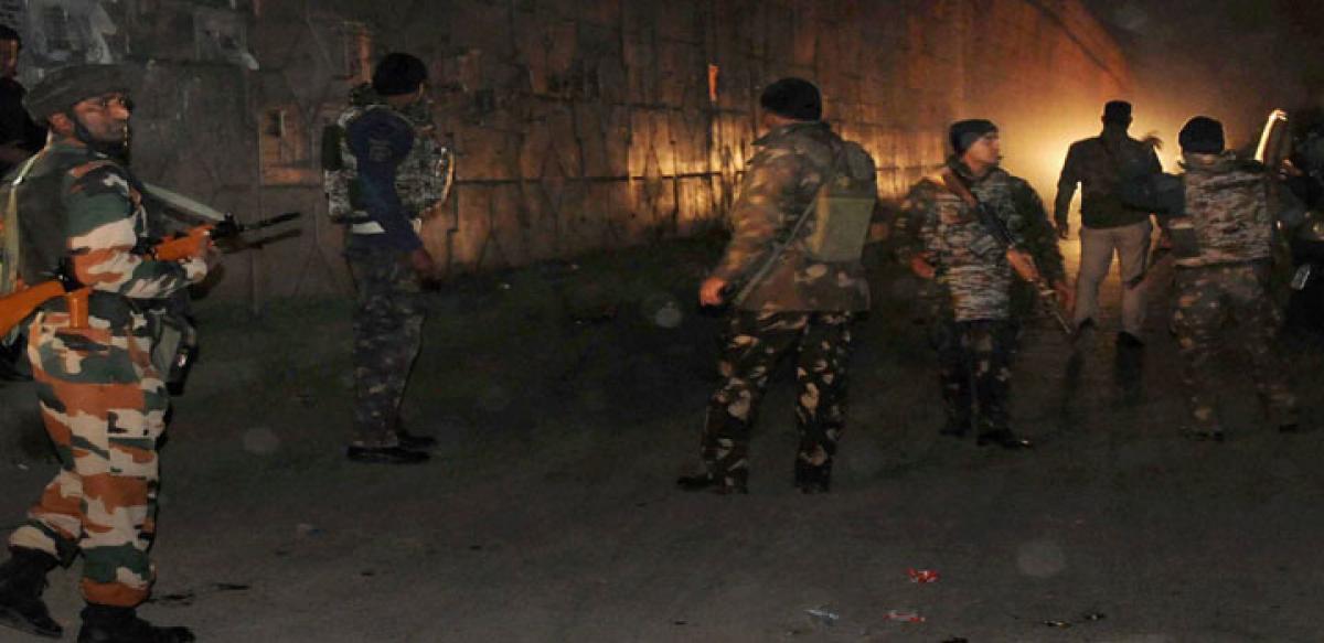 Fidayeen attack on Pathankot IAF base