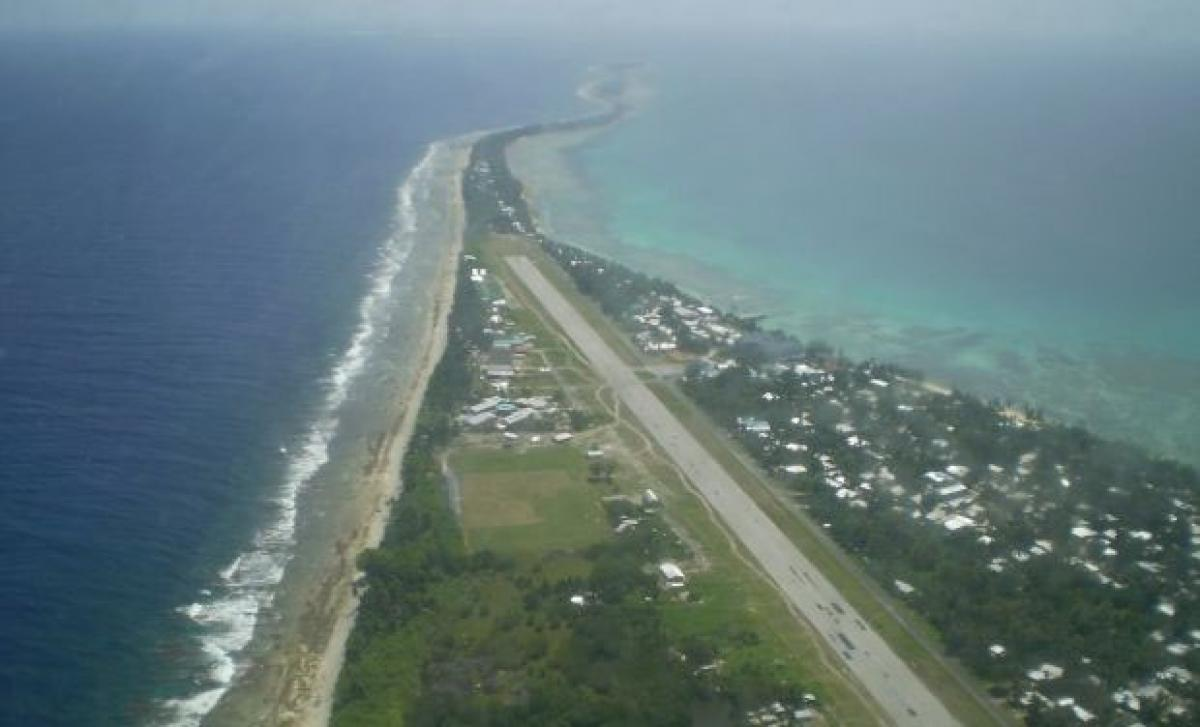 Climate change rise sea levels in Tuvalu, country may disappear from earth