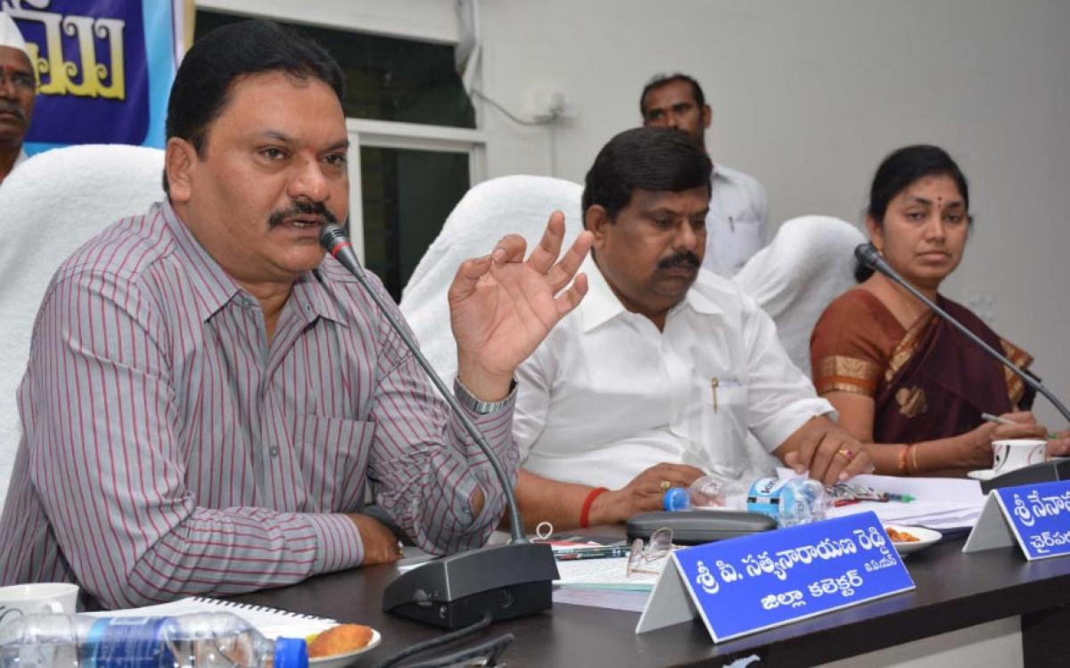 Will tackle drought: Collector