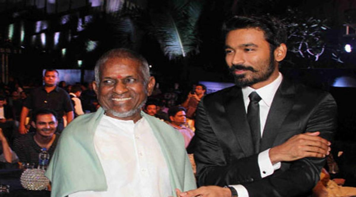 Dhanushs next will have music by Ilayaraja