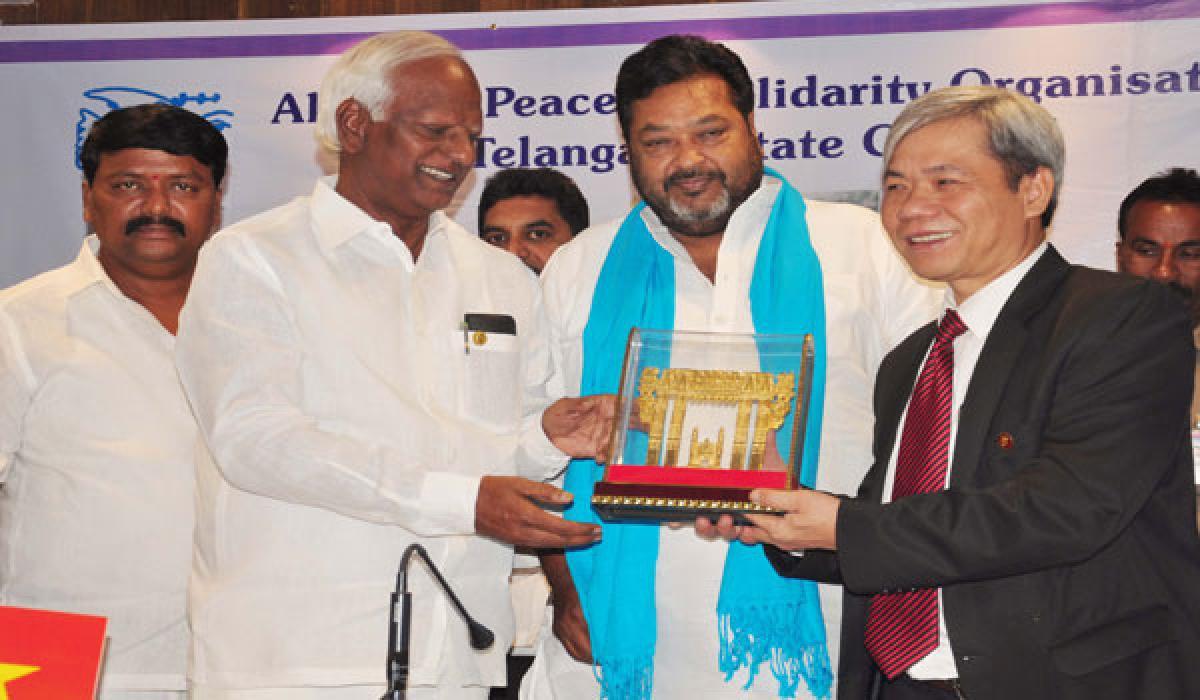 Telangana can't be compared to Vietnam: Kadiyam