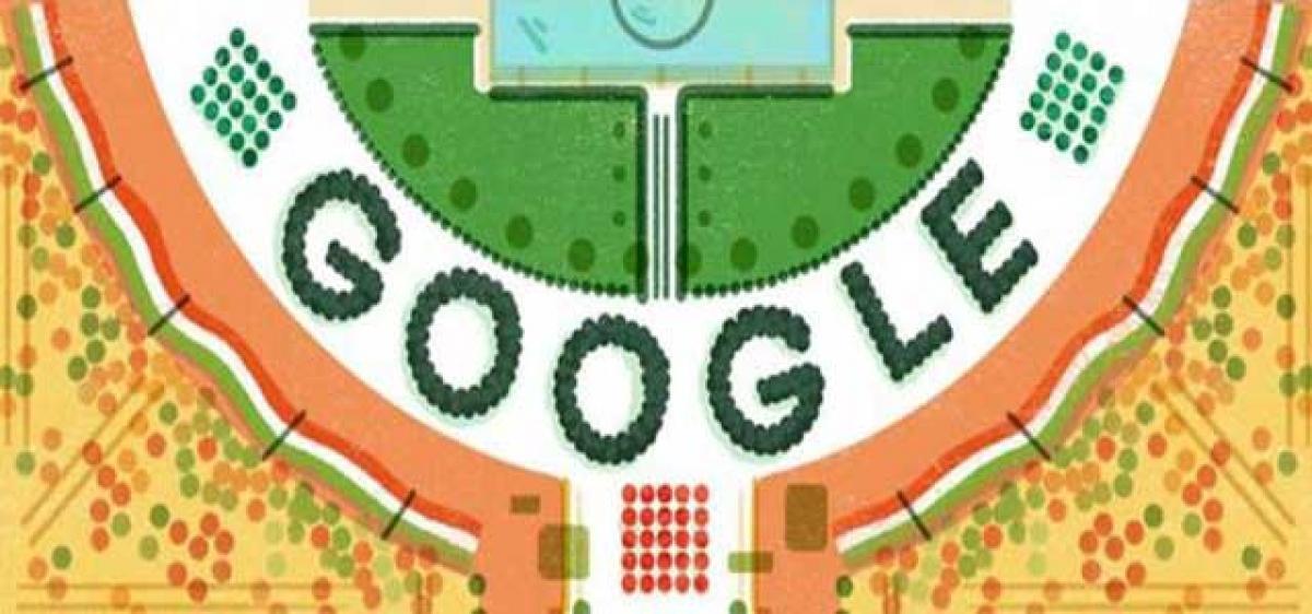 Google celebrates India
