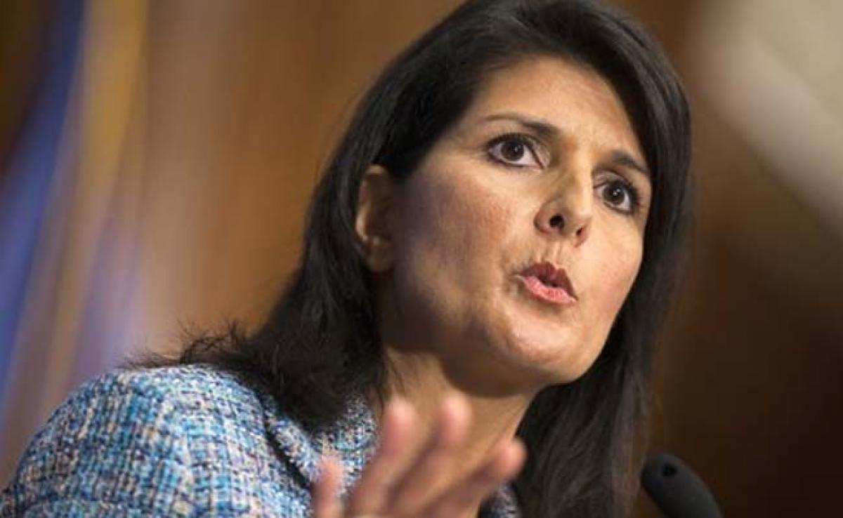 Indian-American Nikki Haley being considered for US Secretary of State